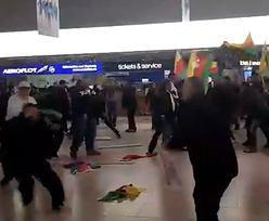 Bijatyka z udziałem 200 osób na lotnisku w Hanowerze. Policja użyła gazu łzawiącego