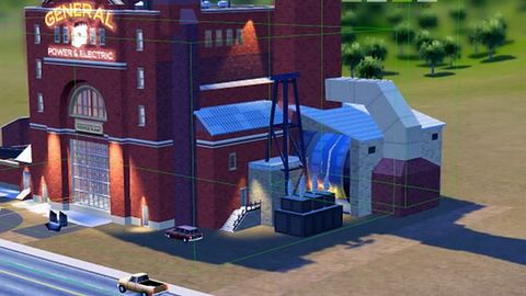 Budynki w SimCity 5 są jak prawdziwe - animowane i dające się rozbudowywać