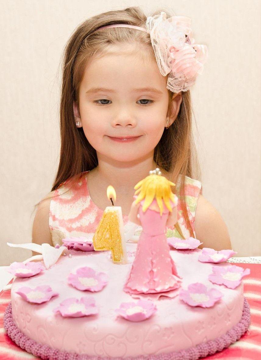 Różowy tort dla dziewczynki