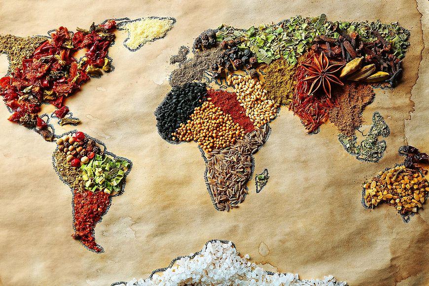 Przyprawy pozyskiwane na całym świecie wykazują wiele właściwości zdrowotnych