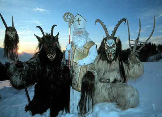 W Austrii 5 grudnia jest obchodzona noc Krampusa