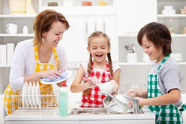 Zaplanuj dla rodzeństwa obowiązki domowe