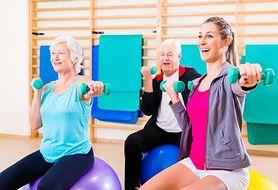 Proste ćwiczenia dla seniorów