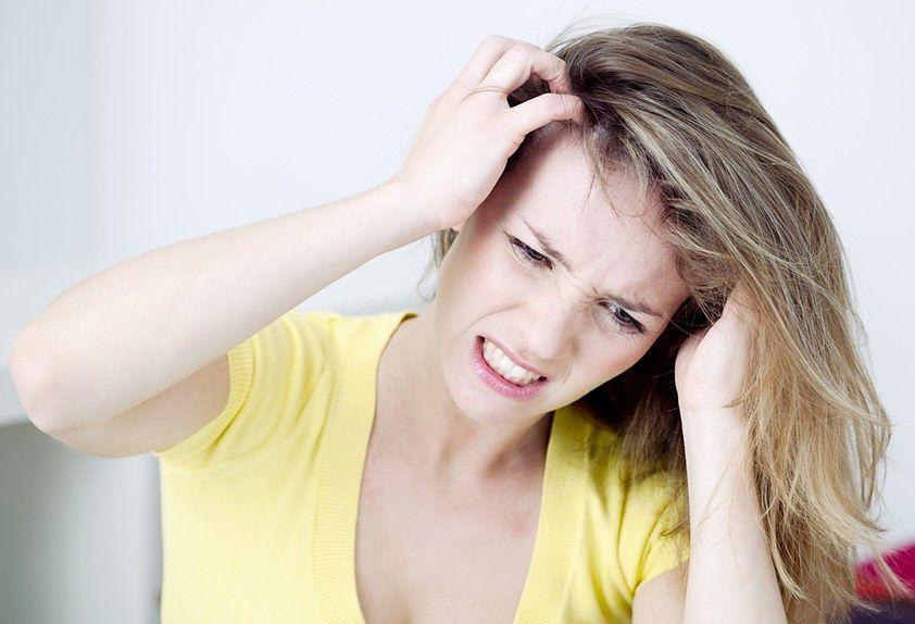Problem suchej skóry głowy