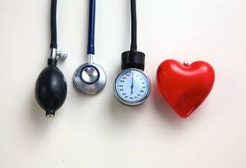 Określ ryzyko zachorowania na nadciśnienie