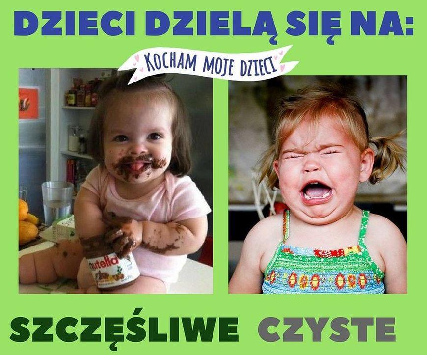 Dziecko szczęśliwe vs czyste
