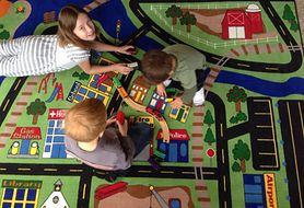Wykładzina czy dywan - co lepiej sprawdzi się w pokoju dziecka?