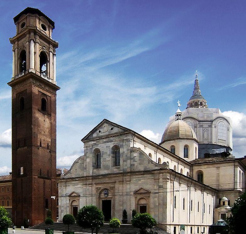 Katedra Metropolitalna Św. Jana Chrzciciela w Turynie.