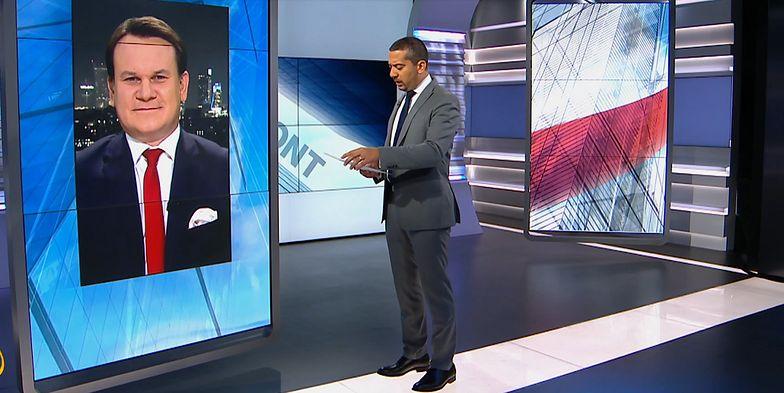 Poseł PiS w telewizji Al Jazeera. Nie powstrzymał języka