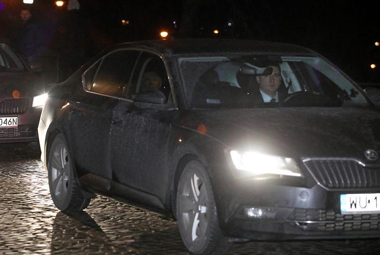 Jarosław Kaczyński podczas styczniowej wizyty