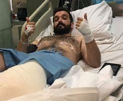 Warszawa. Akurat tamtędy przechodził. 27-latek stracił nogę