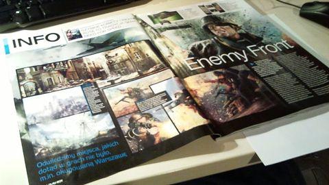 Enemy Front - City Interactive wraca na fronty II wojny światowej