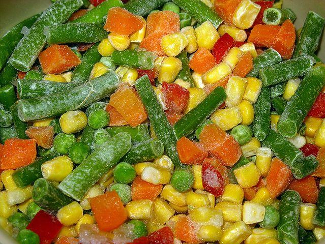 Mrożone warzywa są pozbawione wszelkich wartości odżywczych