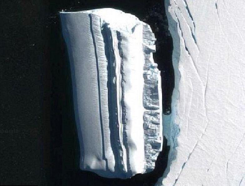 """Dziwny obiekt u wybrzeży Antarktydy. """"Podwodna baza UFO"""""""