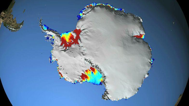 Coś roztapia lód Antarktydy od spodu. NASA: Rozwiązaliśmy zagadkę