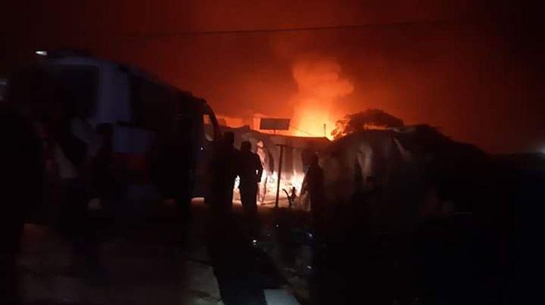 Syria. Rakieta uderzyła w obóz uchodźców. Nie żyje 10 dzieci