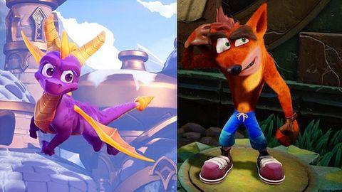 Nie możecie zdecydować, czy Crash, czy Spyro? Już nie musicie