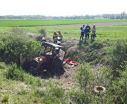 Pociąg uderzył w traktor. Jedna osoba nie żyje