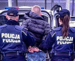 Białystok. Przerwał policjantom zakupy. 19-latek gorzko pożałował