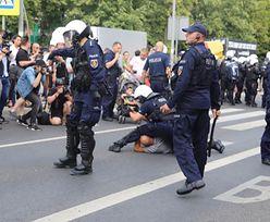Białystok. Kordony policji i petardy. Niespokojnie na Marszu Równości