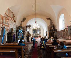 Runęła ściana zabytkowego kościoła w Hajdukach Nyskich. Ekspert: wina pogody