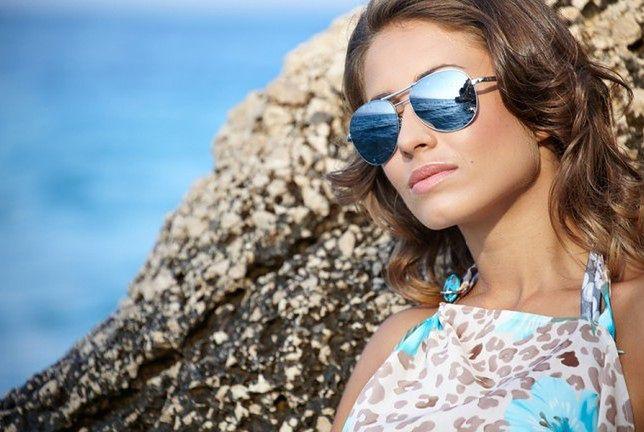 Okulary przeciwsłoneczne skutecznie chronią wzrok