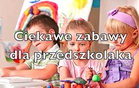 Ciekawe zabawy dla przedszkolaka (WIDEO)