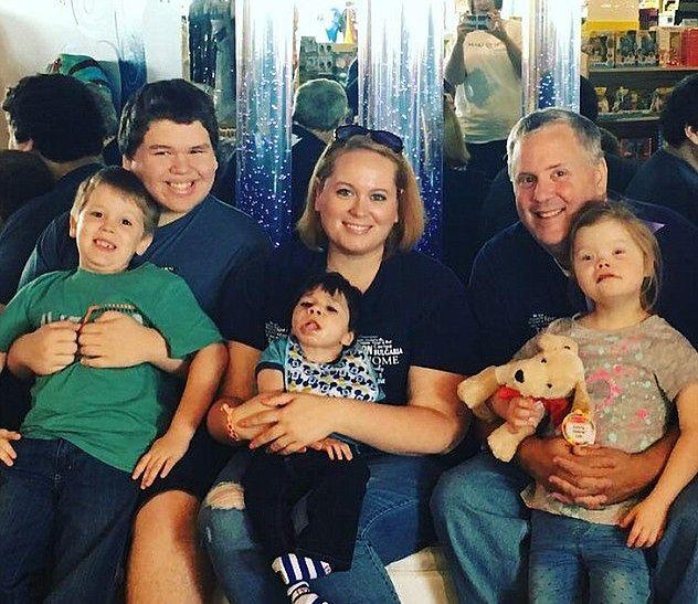 Cała rodzina Morse