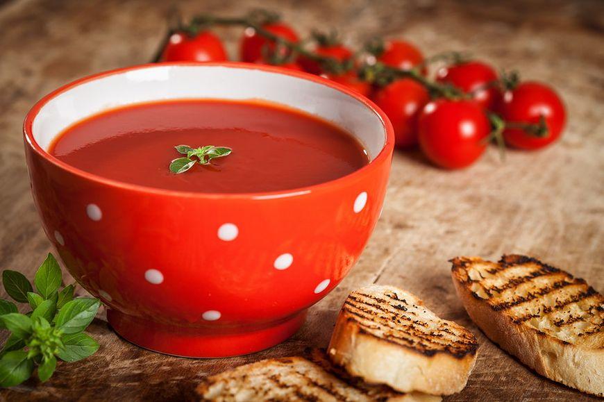 Ostry krem pomidorowy