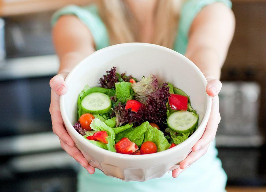 Owoce i warzywa można spożywać bez ograniczeń