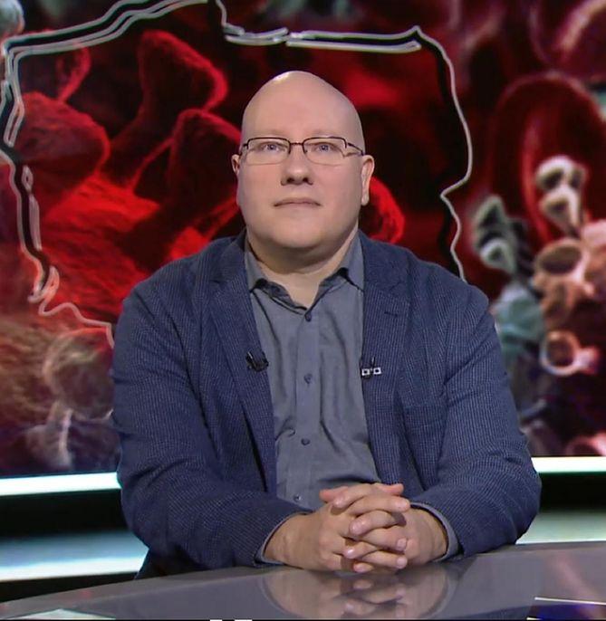 Wirusolog dr Tomasz Dzieciątkowski
