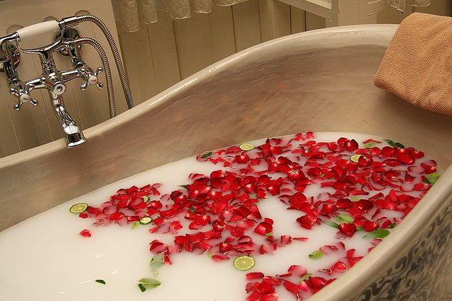 Spa w domu - aromatyczna kąpiel