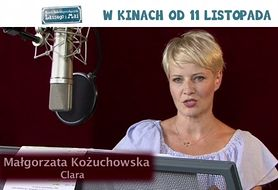 Zabójczo słodka Małgorzata Kożuchowska jako Claraw nowym filmie
