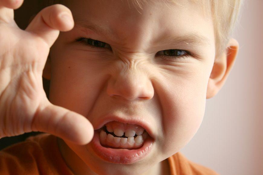 Napady złości u dziecka