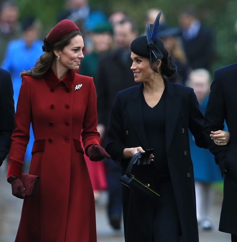 Kate i Meghan jak swoje lustrzane odbicia