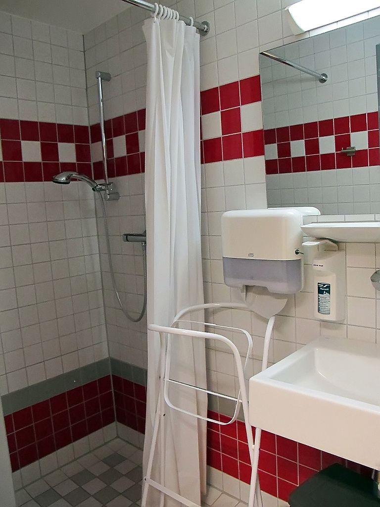 Łazienka na oddziale położniczym