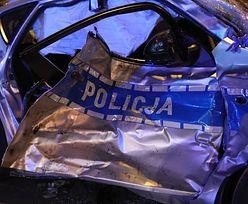 """""""Radiowóz odbił się i uderzył w kobietę"""". Świadek wypadku kolumny BOR nie ma wątpliwości, kto zawinił"""