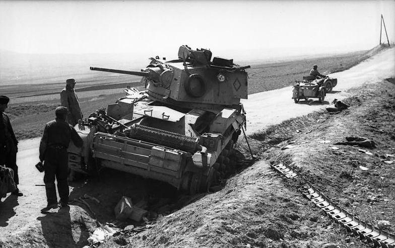 Zatrzymanie czołgów przed Dunkierką