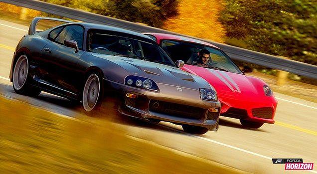 Forza Horizon - wyprzedzanie
