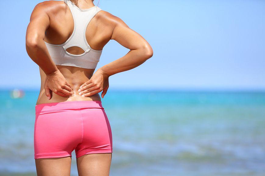 Ból lędźwiowego odcinka kręgosłupa, bioder, kolan i szyi