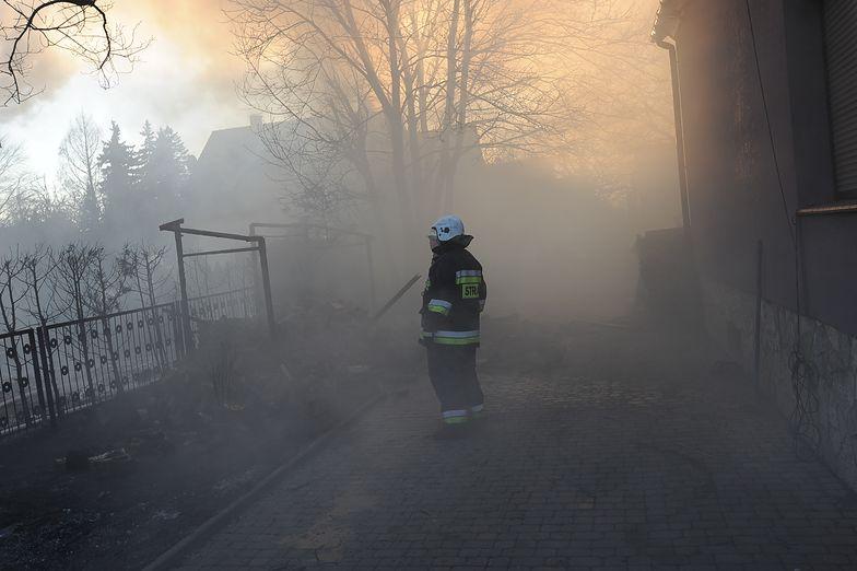 Tragiczny pożar w woj. pomorskim. Mężczyzna spłonął we własnym domu