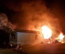 USA. W pożarze domku kempingowego zginęło 5 osób. 9-latek oskarżony o zabójstwo