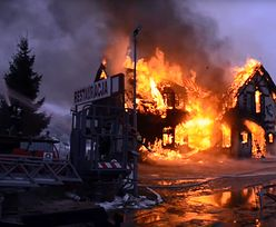 Tragiczny pożar w wigilię. W zgliszczach znalezione ludzkie szczątki