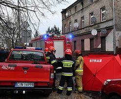 Pruszków. Pożar w budynku i ewakuacja mieszkańców. Jedna osoba nie żyje