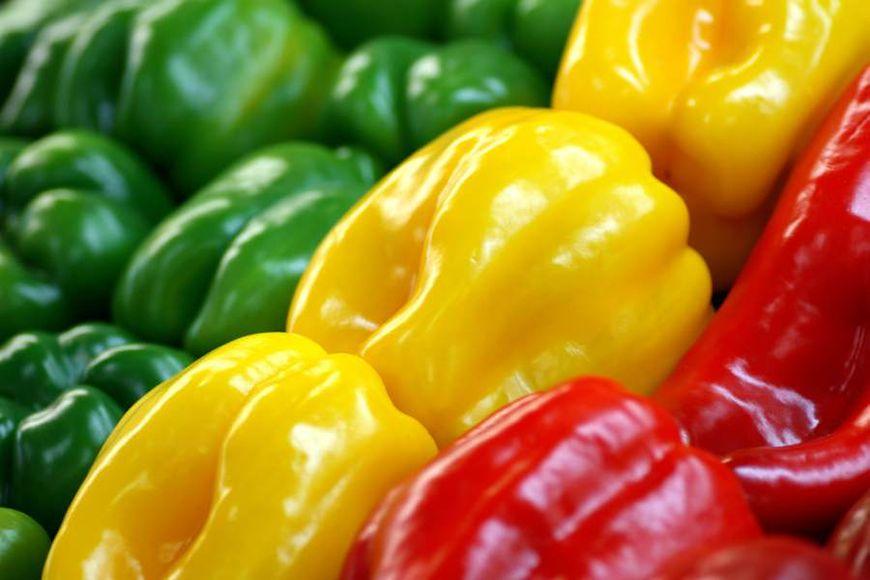 Kolorowe papryki