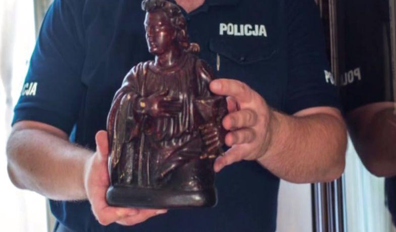 Znaleźli rzeźbę skradzioną 70 lat temu. Pomógł tajemniczy list