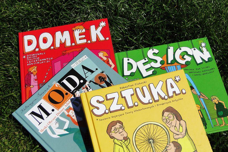 Przykładowe książki wydane przez wydawnictwo