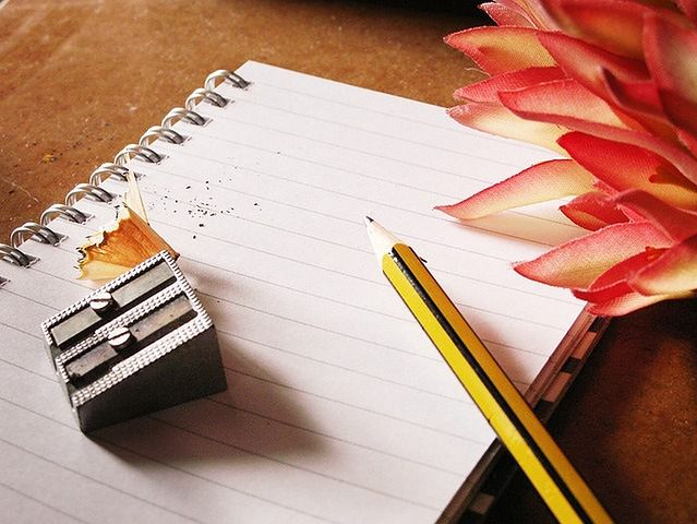 Przelej myśli na papier