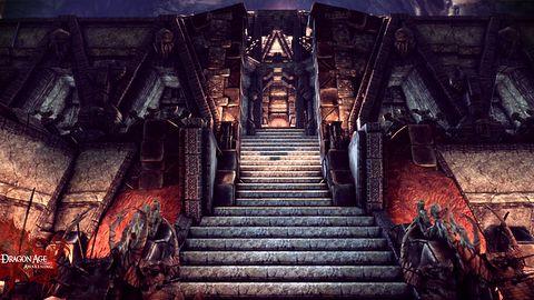 W Dragon Age: Przebudzenie odwiedzimy krasnoludzką fortecę Kal`Hirol