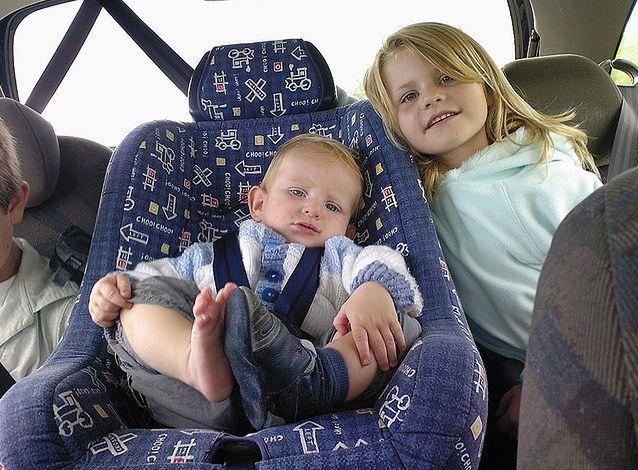 Podróż z dziećmi autem